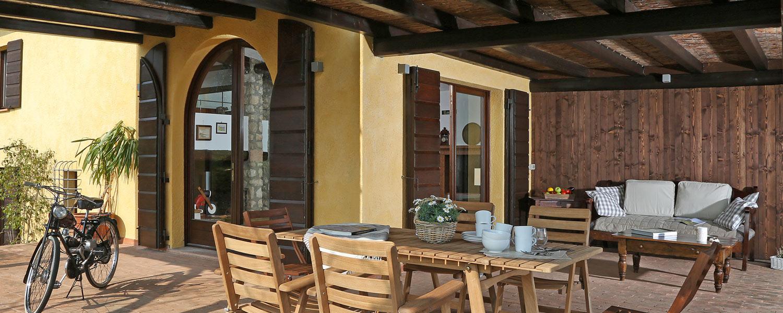 Der Außenbereich Villa Villa dei Rosmarini